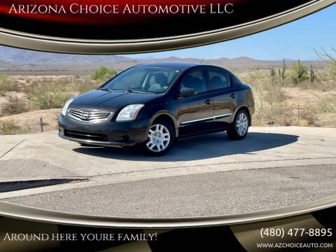 2010 Nissan Sentra for sale at Arizona Choice Automotive LLC in Mesa AZ