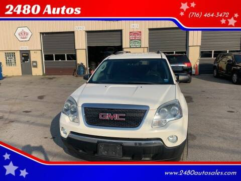 2011 GMC Acadia for sale at 2480 Autos in Kenmore NY