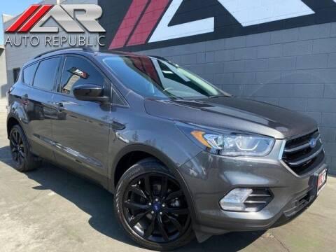 2018 Ford Escape for sale at Auto Republic Fullerton in Fullerton CA