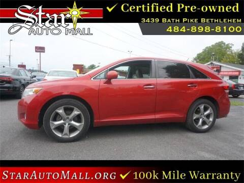 2012 Toyota Venza for sale at STAR AUTO MALL 512 in Bethlehem PA