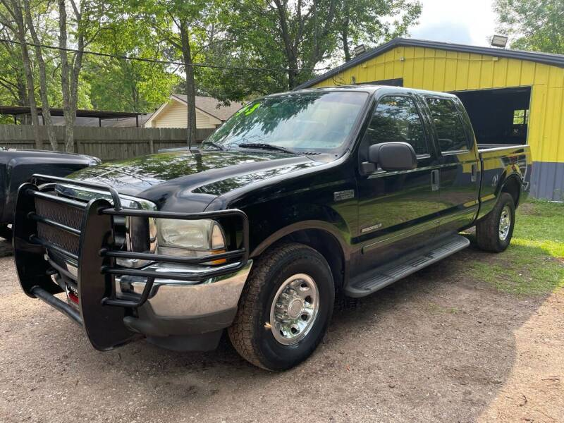 2002 Ford F-350 Super Duty for sale at M & J Motor Sports in New Caney TX