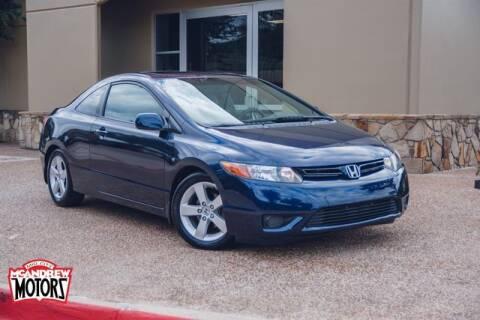 2007 Honda Civic for sale at Mcandrew Motors in Arlington TX