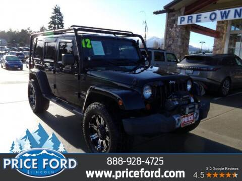 2012 Jeep Wrangler Unlimited for sale at Price Ford Lincoln in Port Angeles WA
