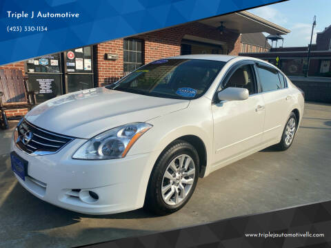 2012 Nissan Altima for sale at Triple J Automotive in Erwin TN