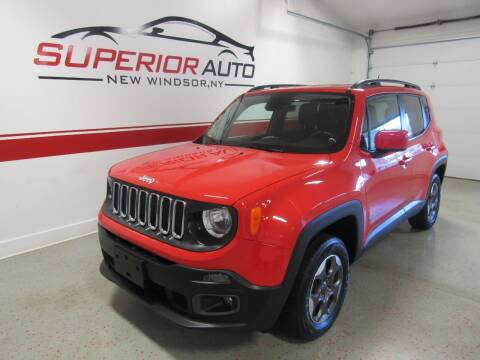 2016 Jeep Renegade for sale at Superior Auto Sales in New Windsor NY