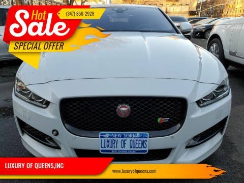 2017 Jaguar XE for sale at LUXURY OF QUEENS,INC in Long Island City NY
