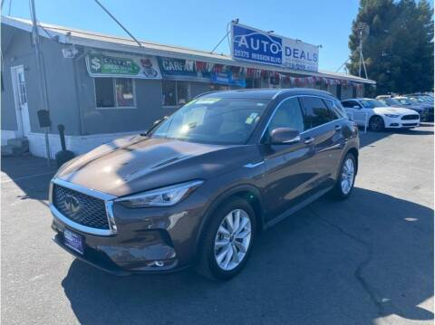 2019 Infiniti QX50 for sale at AutoDeals in Daly City CA