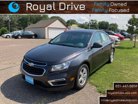 2016 Chevrolet Cruze Limited for sale at Royal Drive in Newport MN