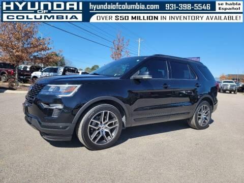 2018 Ford Explorer for sale at Hyundai of Columbia Con Alvaro in Columbia TN