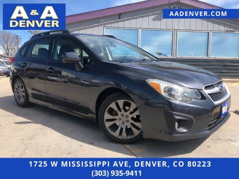 2014 Subaru Impreza for sale at A & A AUTO LLC in Denver CO