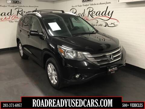 2013 Honda CR-V for sale at Road Ready Used Cars in Ansonia CT