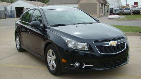 2012 Chevrolet Cruze for sale at Red Rock Auto LLC in Oklahoma City OK