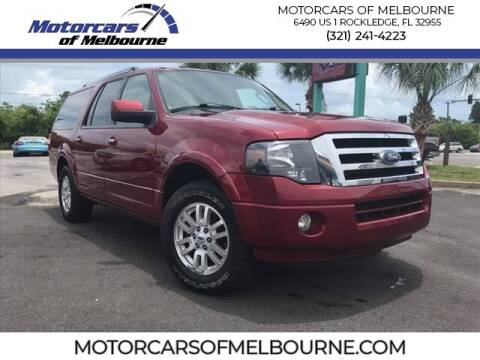 2014 Ford Expedition EL for sale at Motorcars of Melbourne in Rockledge FL