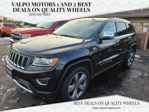 2014 Jeep Grand Cherokee for sale at Valpo Motors Inc. in Valparaiso IN