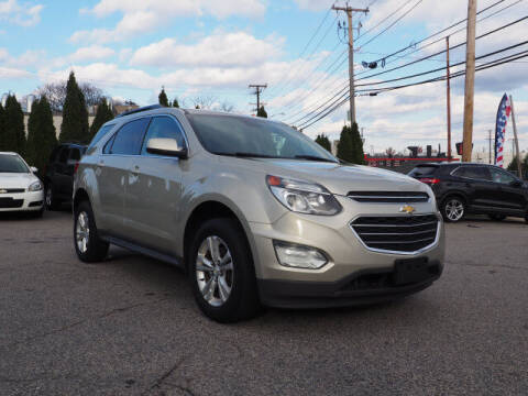 2016 Chevrolet Equinox for sale at East Providence Auto Sales in East Providence RI