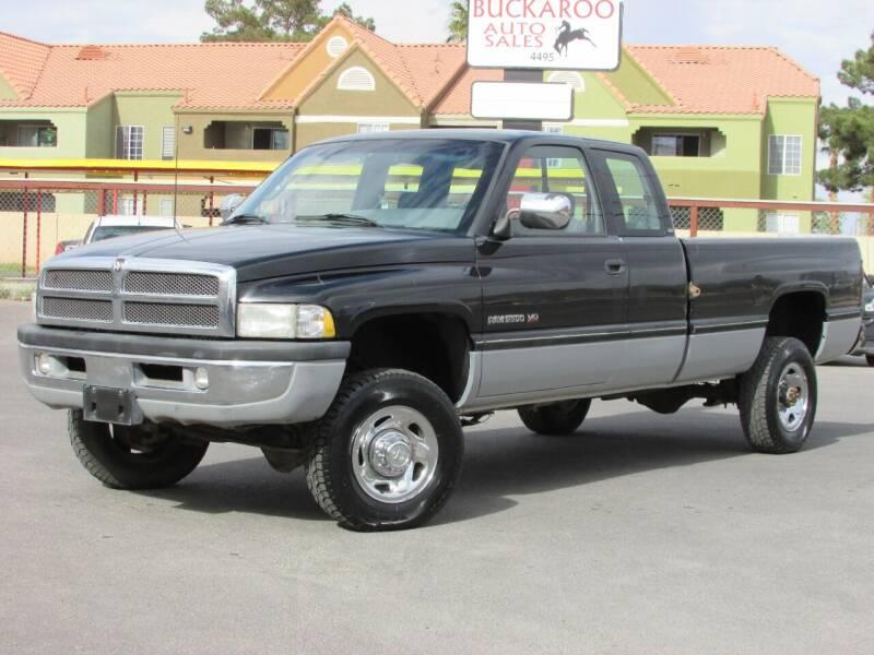 1996 Dodge Ram Pickup 2500 for sale at Best Auto Buy in Las Vegas NV