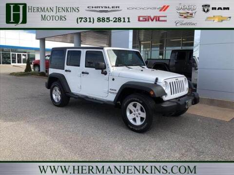 2016 Jeep Wrangler Unlimited for sale at Herman Jenkins Used Cars in Union City TN