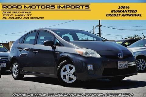 2010 Toyota Prius for sale at Road Motors Imports in El Cajon CA