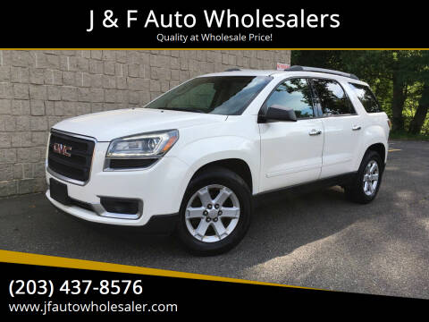 2013 GMC Acadia for sale at J & F Auto Wholesalers in Waterbury CT