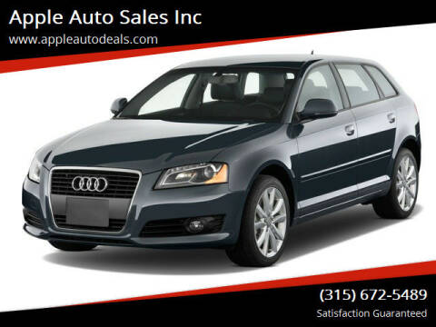 2012 Audi A3 for sale at Apple Auto Sales Inc in Camillus NY