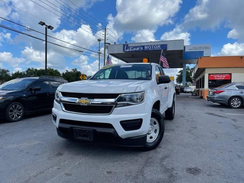 2016 Chevrolet Colorado for sale at LATINOS MOTOR OF ORLANDO in Orlando FL