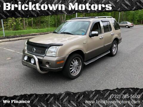 2004 Mercury Mountaineer for sale at Bricktown Motors in Brick NJ