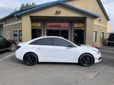 2015 Chevrolet Cruze for sale at Advantage Auto Sales in Garden City ID