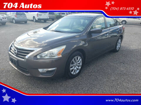 2013 Nissan Altima for sale at 704 Autos in Statesville NC