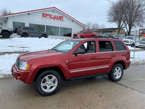 2006 Jeep Grand Cherokee for sale at Efkamp Auto Sales LLC in Des Moines IA