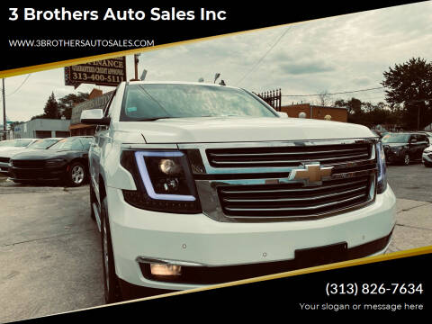 2015 Chevrolet Tahoe for sale at 3 Brothers Auto Sales Inc in Detroit MI