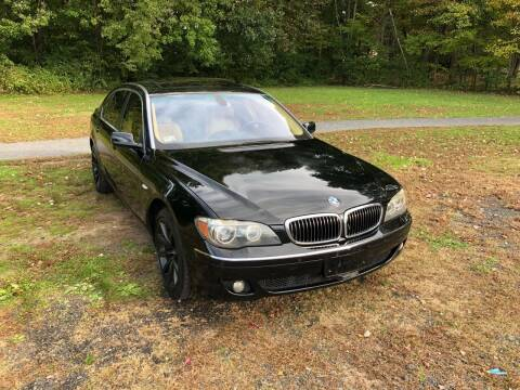 2008 BMW 7 Series for sale at Choice Motor Car in Plainville CT