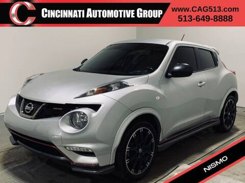 2014 Nissan JUKE for sale at Cincinnati Automotive Group in Lebanon OH