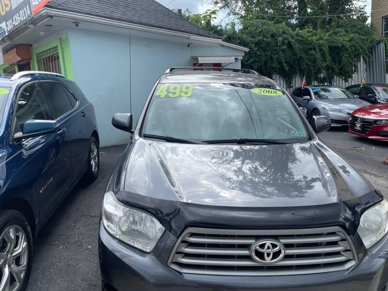 2008 Toyota Highlander for sale at Best Cars R Us LLC in Irvington NJ