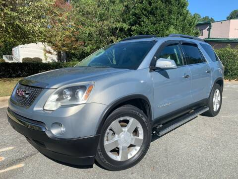 2008 GMC Acadia for sale at Triangle Motors Inc in Raleigh NC