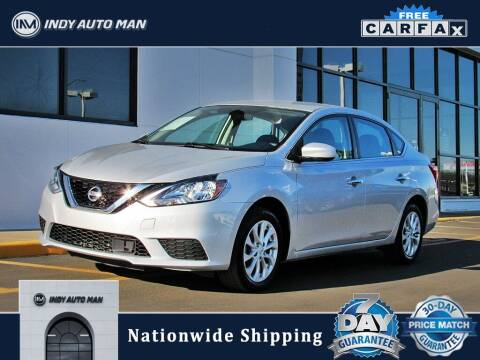 2018 Nissan Sentra for sale at INDY AUTO MAN in Indianapolis IN