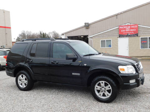 2008 Ford Explorer for sale at Macrocar Sales Inc in Akron OH