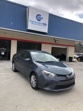 2015 Toyota Corolla for sale at CarUnder10k in Dayton TN