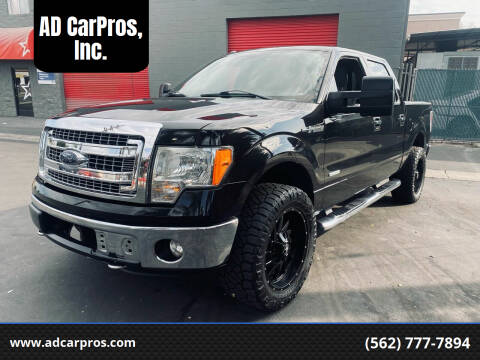 2013 Ford F-150 for sale at AD CarPros, Inc. in Whittier CA