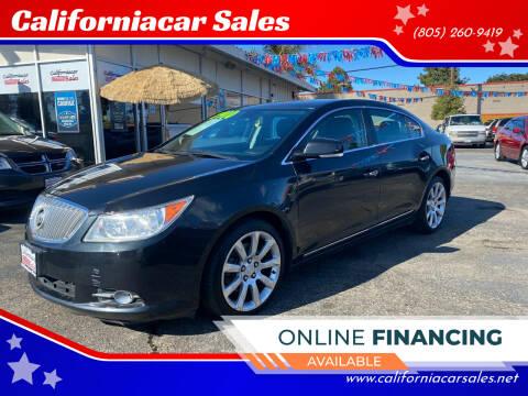 2010 Buick LaCrosse for sale at Californiacar Sales in Santa Maria CA
