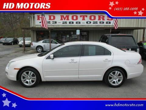 2009 Ford Fusion for sale at HD MOTORS in Kingsport TN