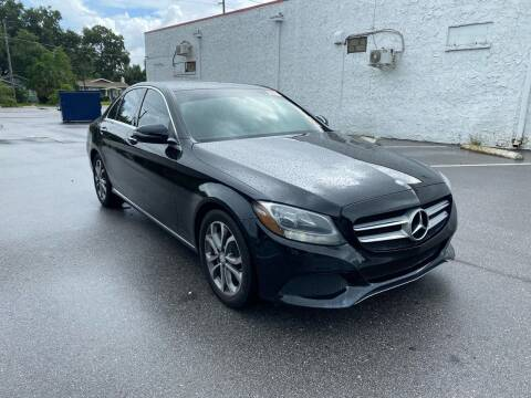 2016 Mercedes-Benz C-Class for sale at LUXURY AUTO MALL in Tampa FL