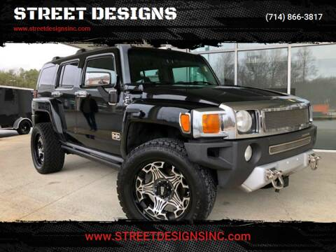 2008 HUMMER H3 for sale at STREET DESIGNS in Upland CA