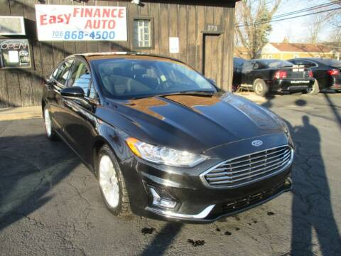 2019 Ford Fusion for sale at EZ Finance Auto in Calumet City IL