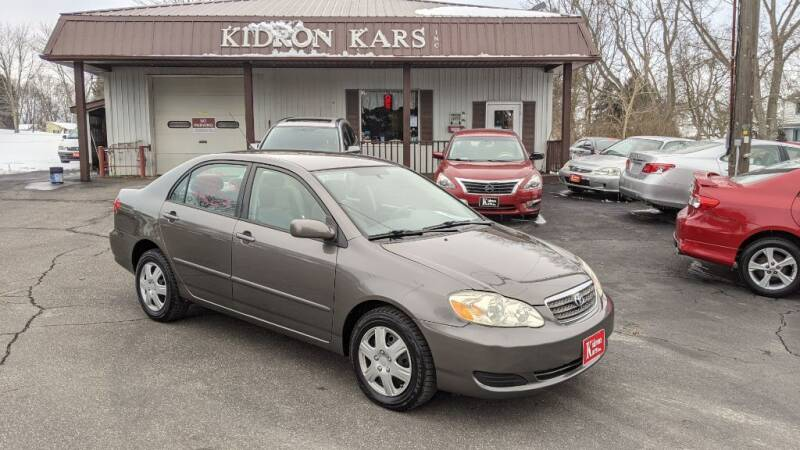 2006 Toyota Corolla for sale at Kidron Kars INC in Orrville OH