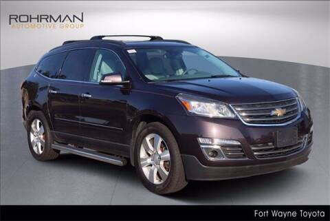 2015 Chevrolet Traverse for sale at BOB ROHRMAN FORT WAYNE TOYOTA in Fort Wayne IN