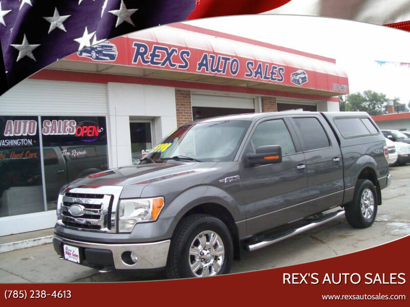2009 Ford F-150 for sale at Rex's Auto Sales in Junction City KS