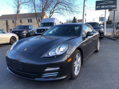 2012 Porsche Panamera for sale at RT28 Motors in North Reading MA