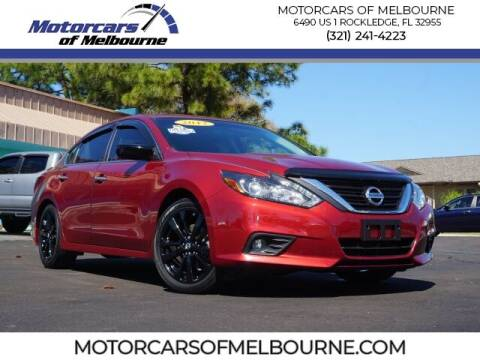2017 Nissan Altima for sale at Motorcars of Melbourne in Rockledge FL
