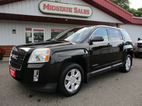2012 GMC Terrain for sale at Midstate Sales in Foley MN