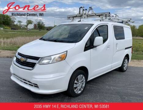 2015 Chevrolet City Express Cargo for sale at Jones Chevrolet Buick Cadillac in Richland Center WI